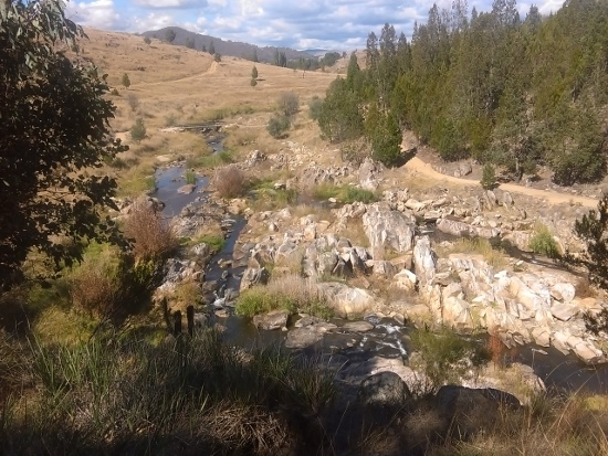 Adelong Falls and Gold Mill walk