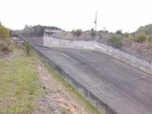 West Barwon Dam spillway