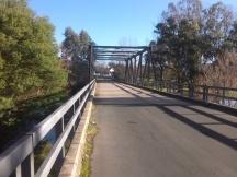 Bridge across the Murray River at Tintaldar