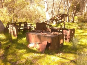 Old Cassillis mining relics