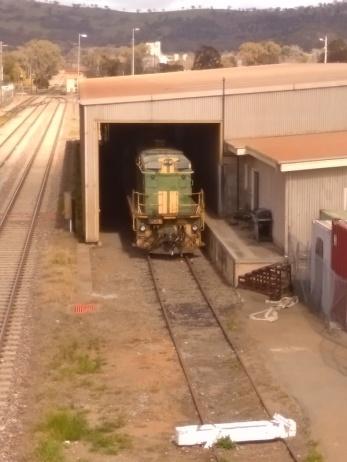 Locomotive (ex ANR?) at Cootamundra.